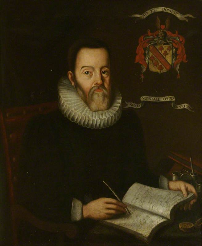 Portrait of George Hakewill, unknown artist, Exeter College, University of Oxford